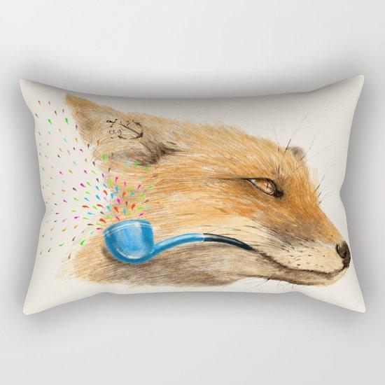 Fox V Rectangular Pillow