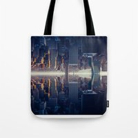 inception Tote Bags featuring Inception by Thomas Richter