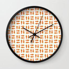 Carrot 1 Wall Clock