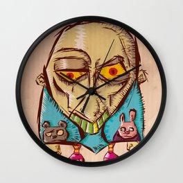 Sleeping Guy Wall Clock