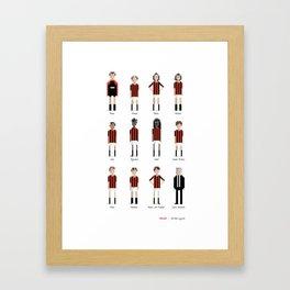 Milan - All-time squad Framed Art Print