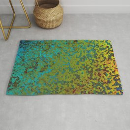 Colorful Corroded Background G292 Rug