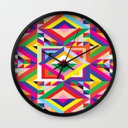Wild Colormix Wall Clock