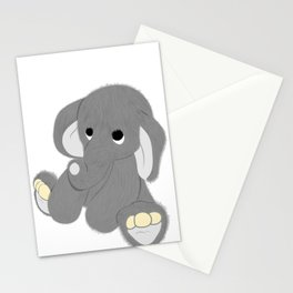 Stuffed Elephant Stationery Cards
