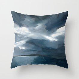 Lake Taupo, New Zealand Throw Pillow