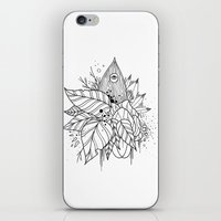 all seeing eye iPhone & iPod Skins featuring All Seeing Eye by R. Gilbert