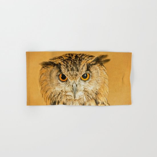 OWL RIGHT ON THE NIGHT Hand & Bath Towel