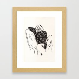 Hope I see you soon Framed Art Print