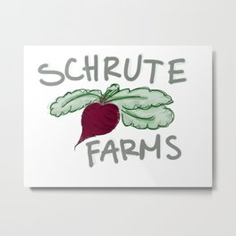 Schrute Farms Metal Print