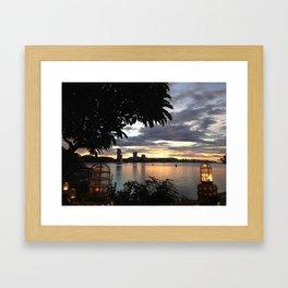 Huahin Thailand Framed Art Print
