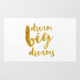 dream big dreams Rug