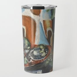 Reflective Still Life Travel Mug
