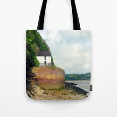 Dylan Thomas.The Boathouse. Tote Bag