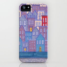 Pretty City II iPhone Case
