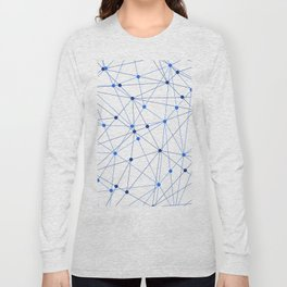 Network background. Connection concept. Long Sleeve T-shirt
