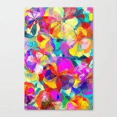 Flower carpet(56) Canvas Print