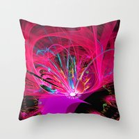 firefly Throw Pillows featuring Firefly by Roger Wedegis