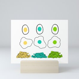 Eggs Mini Art Print