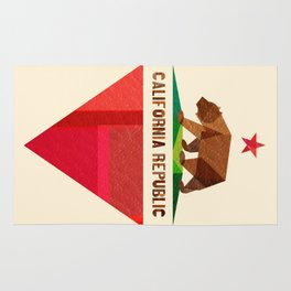 California 2 (rectangular version) Rug