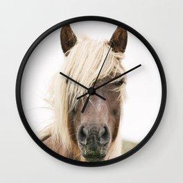 Horse V2 Wall Clock