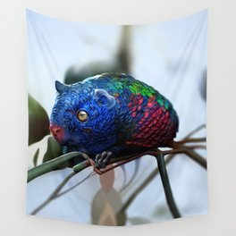 Fantastic creatures: colorful rodent Wall Tapestry