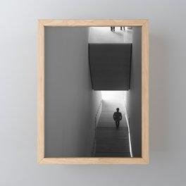 interstitial space Framed Mini Art Print
