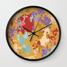 Color Crystall Ball Wall Clock