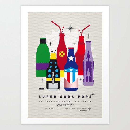 My SUPER SODA POPS No-27 Art Print