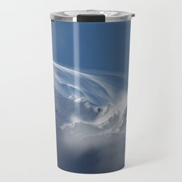 Snow Mont Blanc Mountains Travel Mug