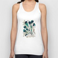 emerald Tank Tops featuring Emerald by Tonya Doughty