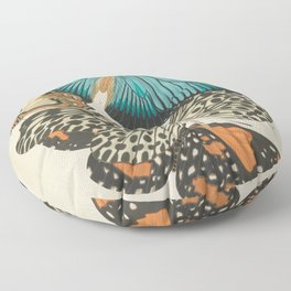 E.A.Séguy - Papillons / Butterflies (1925) Plate 11 Floor Pillow