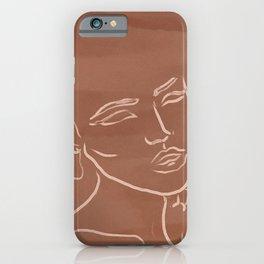 Faces I iPhone Case