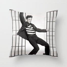 Jailhouse Rock Throw Pillow
