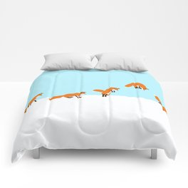 The jumping fox Comforters