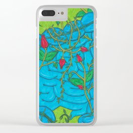Rosy Guts Clear iPhone Case