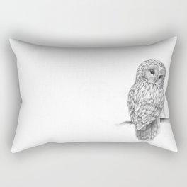 The Ural Owl Rectangular Pillow