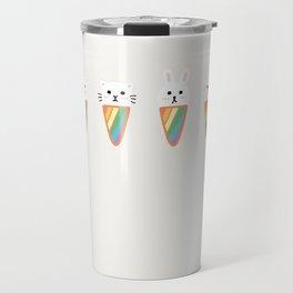 Rainbow Ice-cream Animals Travel Mug