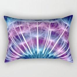 Dandelion colorful 234 Rectangular Pillow