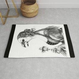 Tête-à-tête with Botticelli Rug