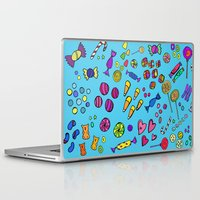 candy Laptop & iPad Skins featuring Candy by andy_panda_