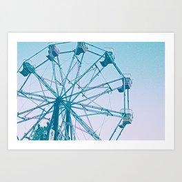 Ferris Wheel's Day Off Art Print