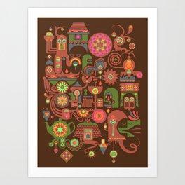Sugar Machine Art Print