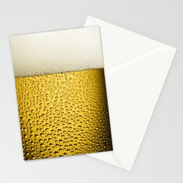 Beer Bubbles 1 Stationery Cards