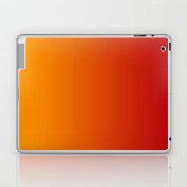 Red Orange Gradient Laptop & iPad Skin