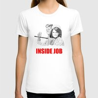 jfk T-shirts featuring JFK Assassination: Inside Job! by InvaderDig