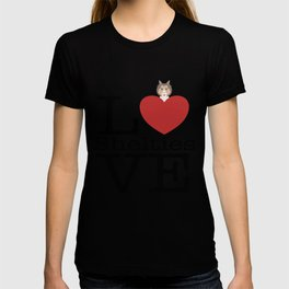 Love Cute Shelties T-shirt