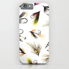 Classic Salmon Fishing Flies Slim Case iPhone 6