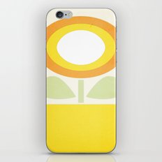 Minimal Flower iPhone & iPod Skin