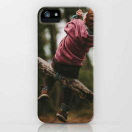 But nothing else iPhone Case