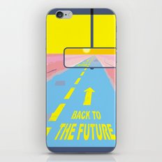 Back to the Future iPhone Skin